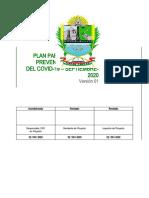 Plan para la Vigilancia, Prevención y Control del Covid R-6