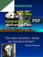 Der Naturschutz Ekologiya