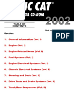 2002 Snowmobile Service Manual