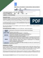 Consentimiento Informado Aplicacion Vacuna Contra SARS CoV 2 COVID 19