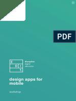 design apps for mobile workshop