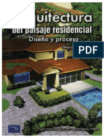 ✅ ARQUITECTURA DEL PAISAJE RESIDENCIAL, DISEÑO Y PROCESO 2ºED. - NORMAN K. BOOTH, JAMES E. HISS - IngenieriaReal.com