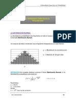PROBABILIDAD (6) Densidades Especiales de Probabilidad (Normal) vc
