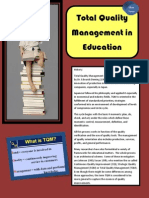 Tqm in Education