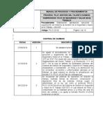 PA 01 03 04 Sistema de Gestión SST