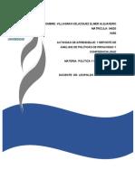 ACTIVIDAD DE APRENDIZAJE 1 REPORTE DE ANÁLISIS DE POLÍTICAS DE PRIVACIDAD Y CONFIDENCIALIDAD