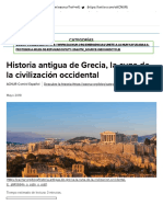 Grecia_ historia de la cuna de la civilización occidental