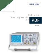 Osciloscop HAMEG hm1500-2-man