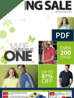 2011 Spring Sale