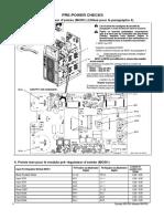 Pre Power Check MOD1,2 Max 350 Français