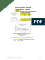 Calculo Biodigestor y Pozo