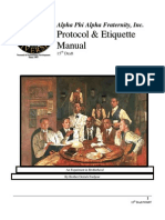 Protocol and Etiquette Manual
