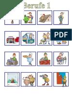 Berufe 1 Memory Arbeitsblatter Bildbeschreibungen Bildworterbucher 67797