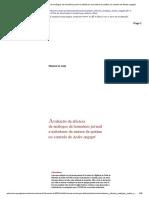 Avaliação da eficácia de análogos de hormônio juvenil e inibidores da síntese de quitina no controle de Aedes aegypti