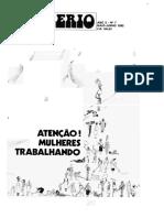 Revista Mulherio Numero 7