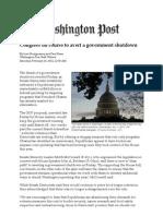 Congress on course to avert a government shutdown