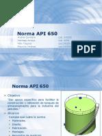 Exposición Norma API 650
