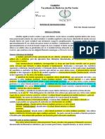 Roteiro 9 - Medula Espinhal e Meninges