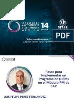 Pasos para Implementar un Programa de (CBM) en el Módulo PM de SAP