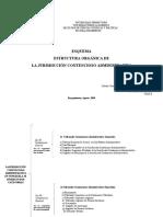 Esquema Estructura Orgánica de La Jurisdicción Contencioso Administrativa