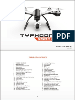 Yuneec q500 Typhoon Quadcopter With Cgo2 Gb Yunq5psartfus b h 390405 User Manual