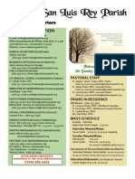 MSLRP Bulletin for February 27, 2011