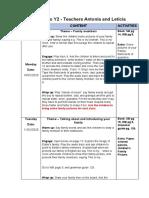 Y2 Plan- Feb 10th- Feb 21th