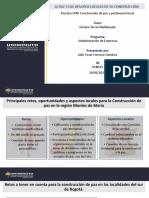 LA PAZ Y LOS DESAFÍOS LOCALES DE SU CONSTRUCCIÓN