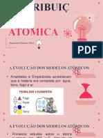 Slide Modelos atômicos