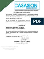 Certifcacion Para Permiso Equipo Principal