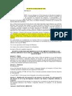 DECRETO LEGISLATIVO Nº 1395 - INTERPRETACION DE DETRACCION - ESTADO DE EMERGENCIA