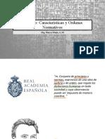 Derecho Caracteristicas y Ordenes Normativos (1)