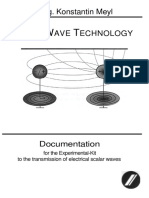 Scalar Wave Technology - Experimental-Kit for Electrical Scalar Waves [Meyl; 2003]