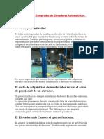 Una Guía para el Comprador de Elevadores Automotrices PARTE 1