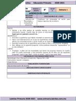 Enero - 6to Grado Educación Socioemocional (2020-2021)