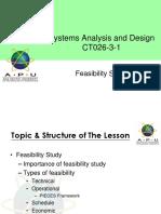 Week 07 - Feasibility Study
