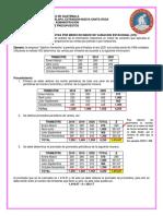 Presupuesto de Ventas Por Medio de Indice de Variacion Estacional