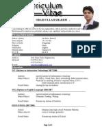 Obaidullah Sharefi's CV