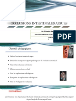 5- Occlusions intestinales aiguës