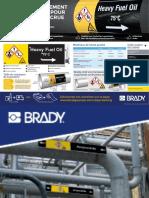 Nouvelle Norme ISO20560 marquage de Tuyauterie BRADY