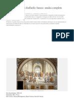 Scuola di Atene di Raffaello Sanzio