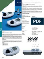 DeltaOHM HD25.2 Turbidity Meter Datasheet En