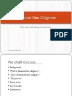 Finance Due diligence