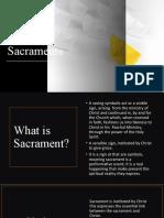 week 6 Sacraments