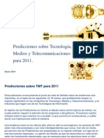 Predicciones sobre Tecnología, Medios y Telecomunicaciones para 2011