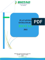 PLATAFORMA ESTRATEGICA BIOTAO