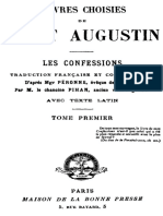 OEuvres choisies de saint Augustin tome 1