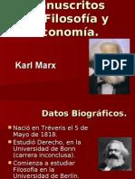 Manuscritos de Filosofía y Economía (Marx)