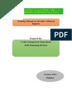 3. MCR Training Document (Final) (1)