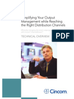 Cincom ChannelStream - Simplifying Your Output Management While Reaching the Right Distribution Channels